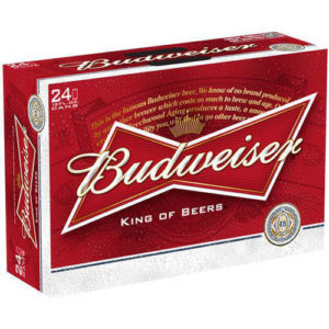 Budweiser • 24pk Suitcase Cans