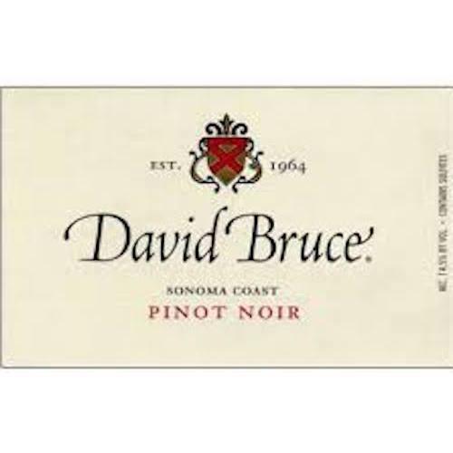 David Bruce Pinot Sonoma Coast