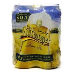 Bitburger Pilsner • 4pk Can