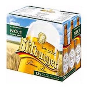 Bitburger Pilsner • 12pk Bottles