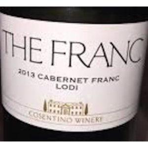 Cosentino Winery The Franc Cabernet Franc