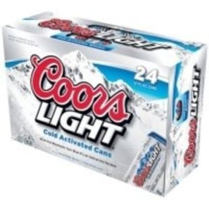 Coors Light • 24pk Suitcase Cans