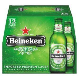Heineken Lager • 12pk Bottles