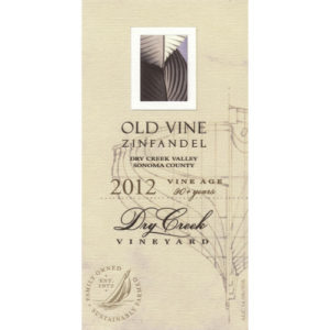 Dry Creek Old Vines Zinfandel 6 / Case
