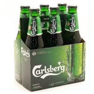 Carlsberg Lager • 6pk Bottle