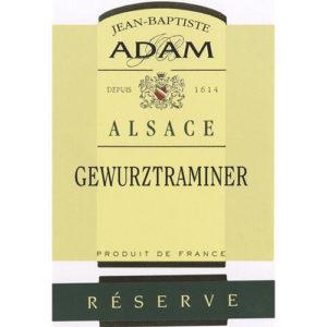 Jean Baptiste Adam Gewurztraminer Reserve