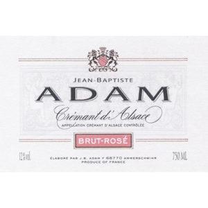 Jean Baptiste Adam Cremant D'alsace Brut Rose
