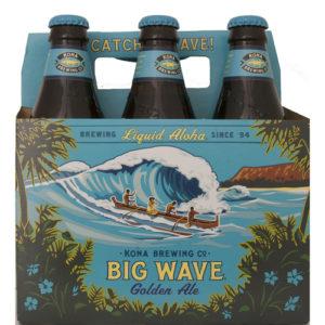 Kona Big Wave Golden Ale • 6pk Bottle