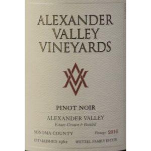 Alexander Valley Pinot Noir