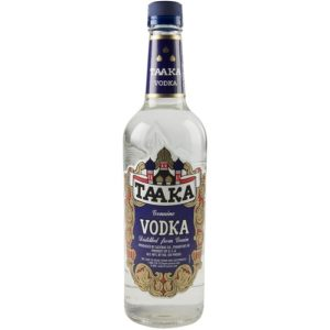 Taaka Vodka 80′ Plastic