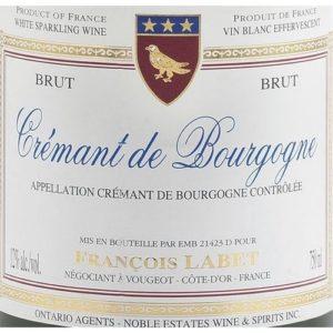 Francois Labet Brut Cremant De Bourgogne Pinot Noir
