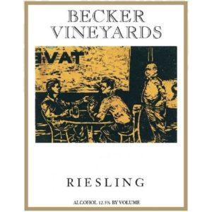 Becker Riesling Texas