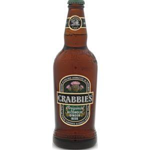 Crabbies Alcoholic Ginger Beer • 4pk Bottle