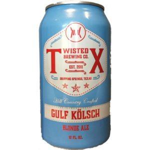 Twisted X Gulf Kolsch • Cans