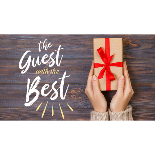 The Guest With The Best - Thanksgiving Host Gift
