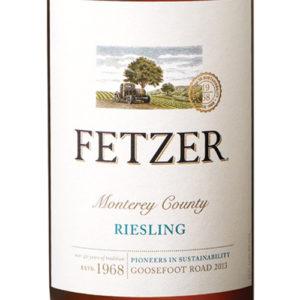 Fetzer Riesling Goosefoot Monterey