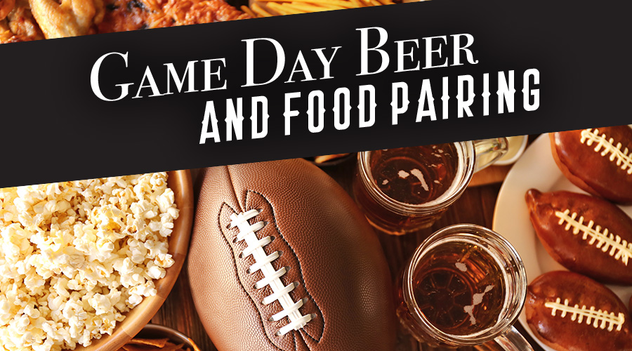 Game Day Beer And Food Pairing