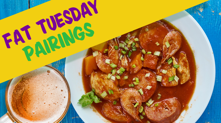 Fat Tuesday Pairings