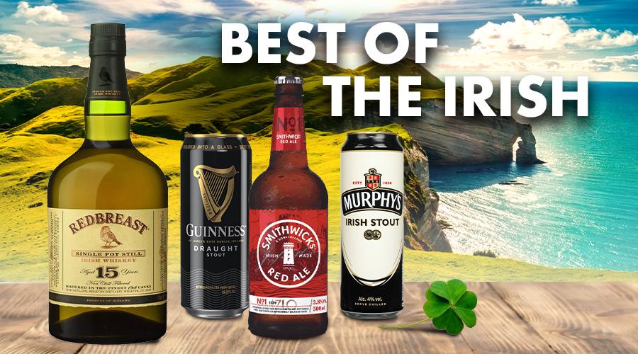 Best Irish Beers, Wines & Spirits - Spec's Wines, Spirits & Finer Foods