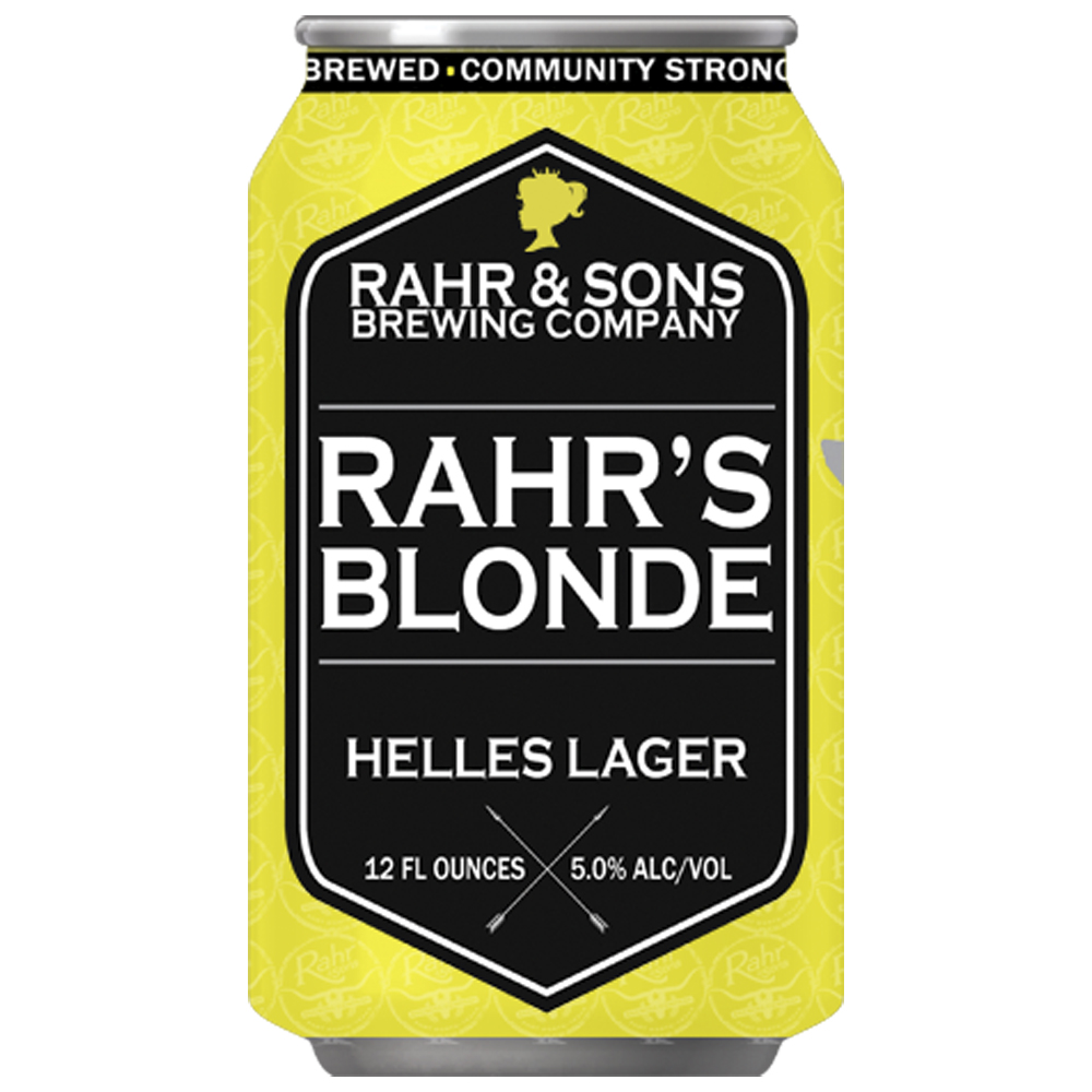 Rahr Blonde Lager • Cans