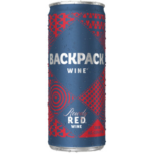 Backpack Wines Rowdy Red Can 4pk