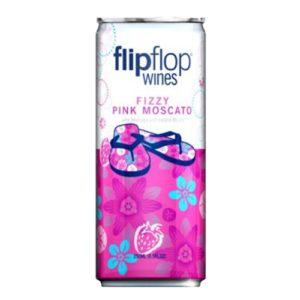 Flip Flop Fizzy Pink Moscato 4pk