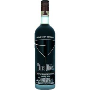 Three Olives Vodka • Triple Expresso