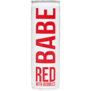 Babe Red With Bubbles Can 4pk