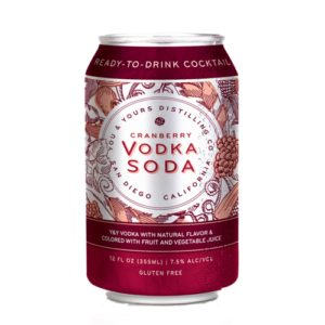 You And Yours • Cranberry Vodka Soda 4pk-355ml