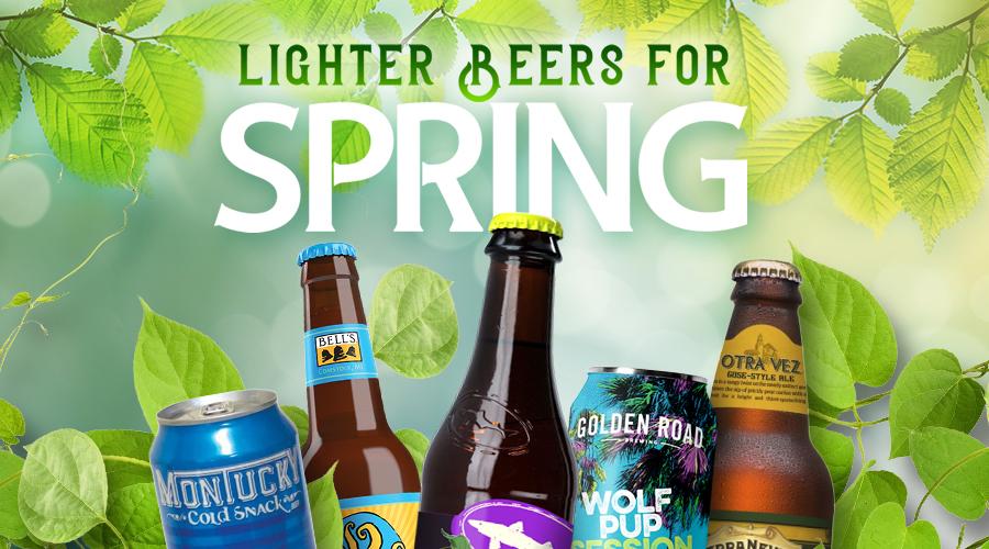 Lighter Beers For Spring - Spec's Wines, Spirits & Finer Foods
