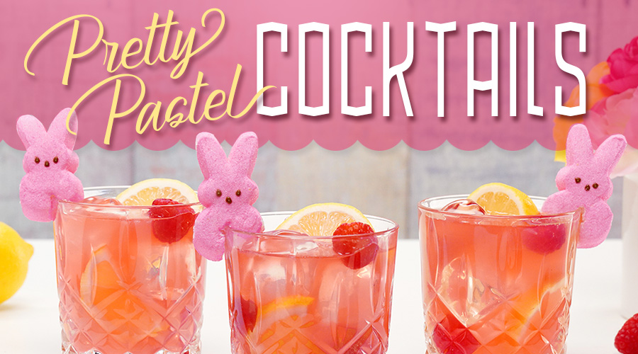Pretty In Pastel: Colorful Easter Cocktails