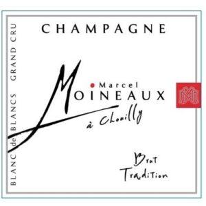 Champagne Marcel Moineaux Chouilly Brut Blanc De Blanc Grand Cru