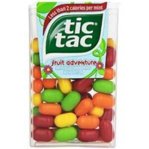 Tic Tac Fresh Breath Fruit Adventure Hard Candy Mints