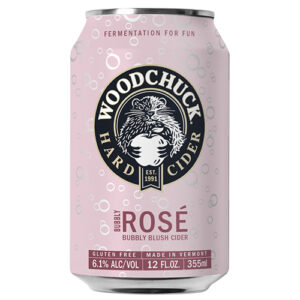 Woodchuck Bubbly Rose Cider • Cans