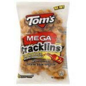 Toms Pork Skins • Mega Hot Cracklins