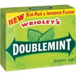 Wrigley's Chewing Gum Doublemint Slim Pack