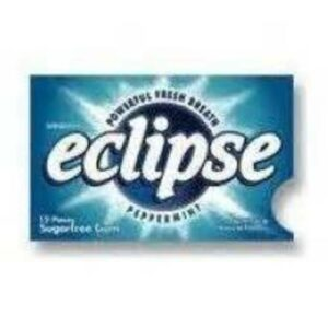 Wrigley's Eclipse Peppermint Chewing Gum