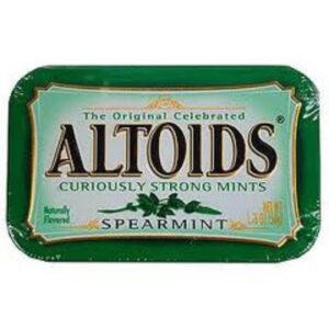Altoids Curiously Strong Spearmint Mints