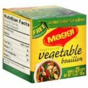 Maggi Bouillon Cubes • Vegetable 20ct