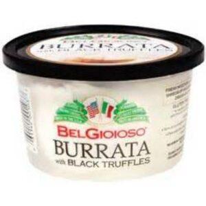 Belgioioso Black Truffle Burrata Cheese