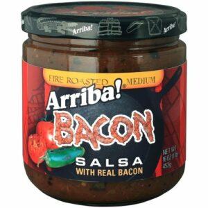 Arriba! Bacon Fire Roasted Salsa