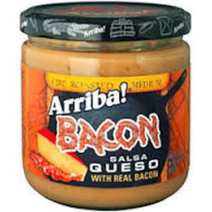 Arriba! Medium Bacon Fire Roasted Salsa Queso