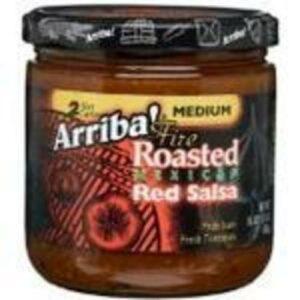 Arriba! Medium Fire Roasted Mexican Red Salsa Jar