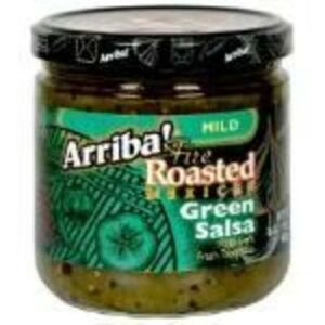 Arriba! Fire Roasted Green Mild Salsa