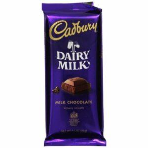 Cadbury Dairy Milk Chocolate Candy Bar