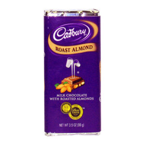 Cadbury Roasted Almond Chocolate Candy Bar