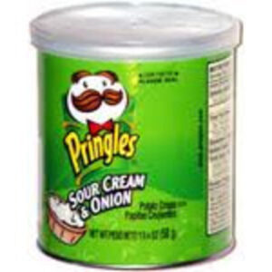 Pringles Sour Cream And Onion Potato Crisps Chips On The Go