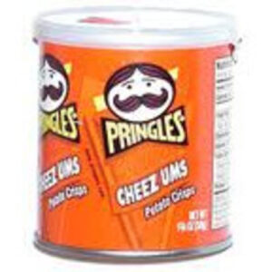 Pringles Cheezums Potato Crisp Chips On The Go