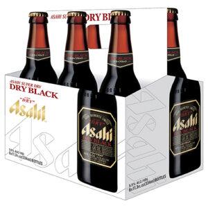 Asahi Dry Black • 6pk Bottle