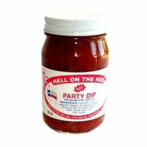 Hell On The Red! Lendendary Texas Hot Party Dip Salsa